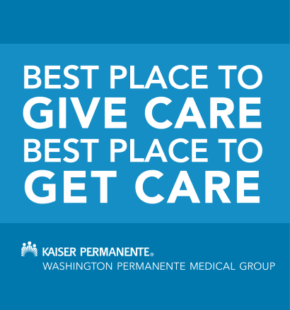 Washington Permanente Medical Group is the best place to give and receive care